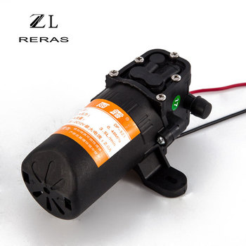 DC 12V 70PSI 3.5L/min High Pressure Diaphragm Water Sprayer Pump Car Wash Agricultural Electric Water Pump Black Micro image