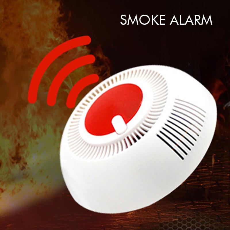 Tinfnece Smoke Sensor Protection Independent 85 DB Equipment Smoke Detector Sensor For Home Safety Security