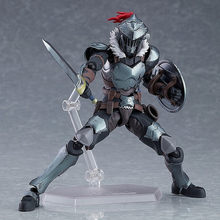 Ongeveer 15Cm 2020 Nieuwe Anime Goblin Slayer Figures Figma 424 Goblin Slayer Elkberg Action Figure Pvc Collection Model Speelgoed(China)