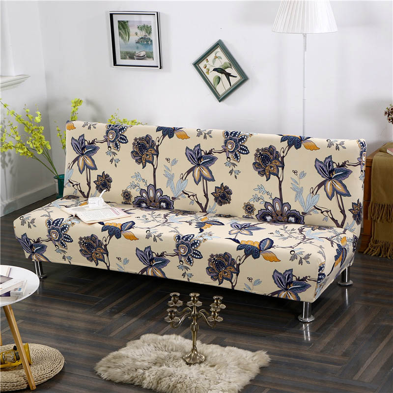 Sofa Cover for Folding Sofa with Tight Wrap to Protect Sofa from Scratch Made with Polyester and Spandex 2