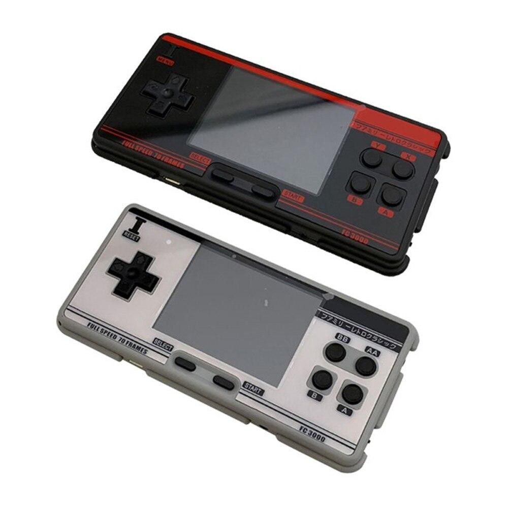 Новая портативная игровая консоль FC3000, 8 симуляторов, Детская игровая консоль с цветным экраном для PXPX7, черная, серая, абсолютно новая, высок...