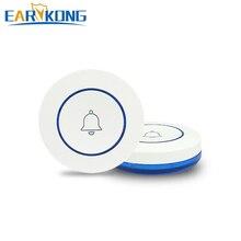 Беспроводная кнопка SOS 433 МГц, кнопка паники, беспроводная программа кнопки для дверного звонка, функции для нашей домашней охранной сигнали...