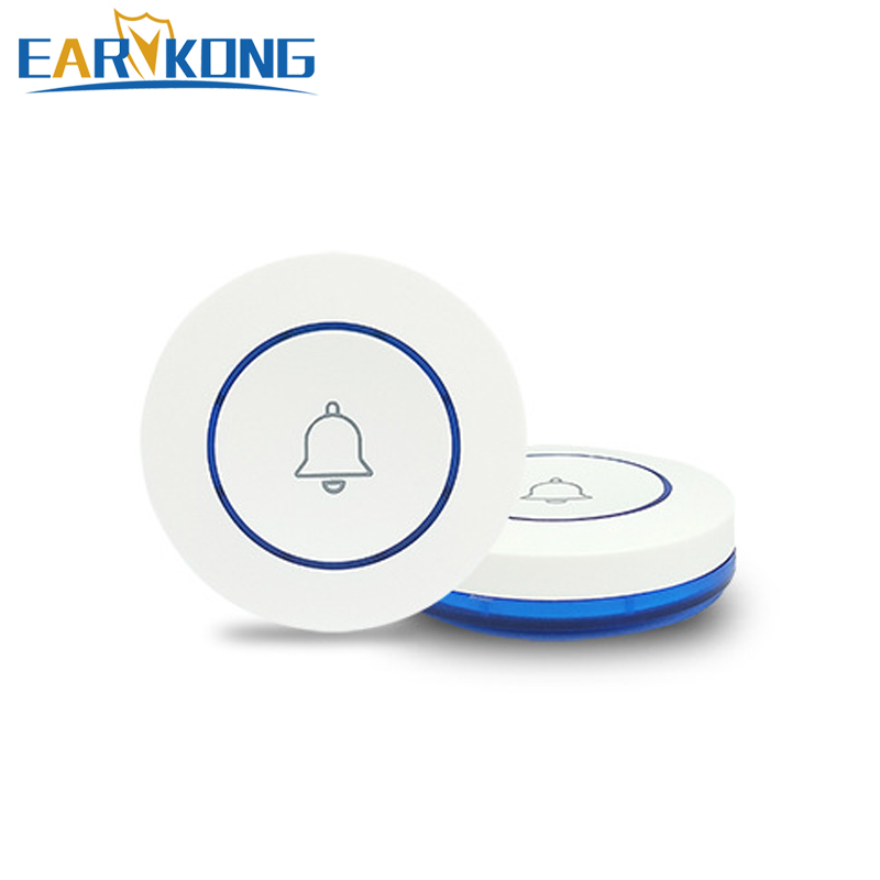 433MHz Wireless SOS Button Panic Button Wireless Button Program For Doorbell Funtion For Our Home Burglar Alarm System