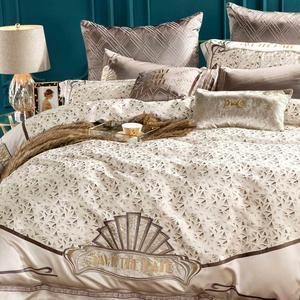 Image 5 - Svetanya estilo real brocado ropa de cama de Reina rey tamaño doble cama