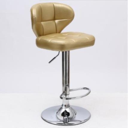 Modern Minimalist Bar Chair European Bar Stool Home Bar High Stool Backrest Chair Formal Dinning Chairs