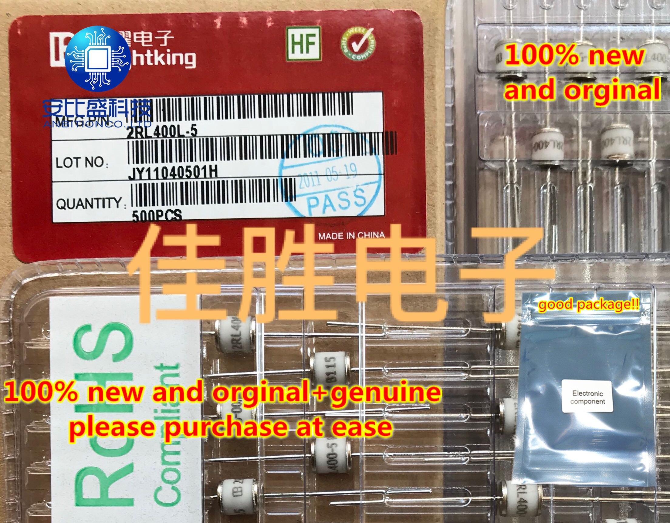 20pcs 100% New And Orginal 2RL400L 400V Ceramic Gas Discharge Tube   In Sotck