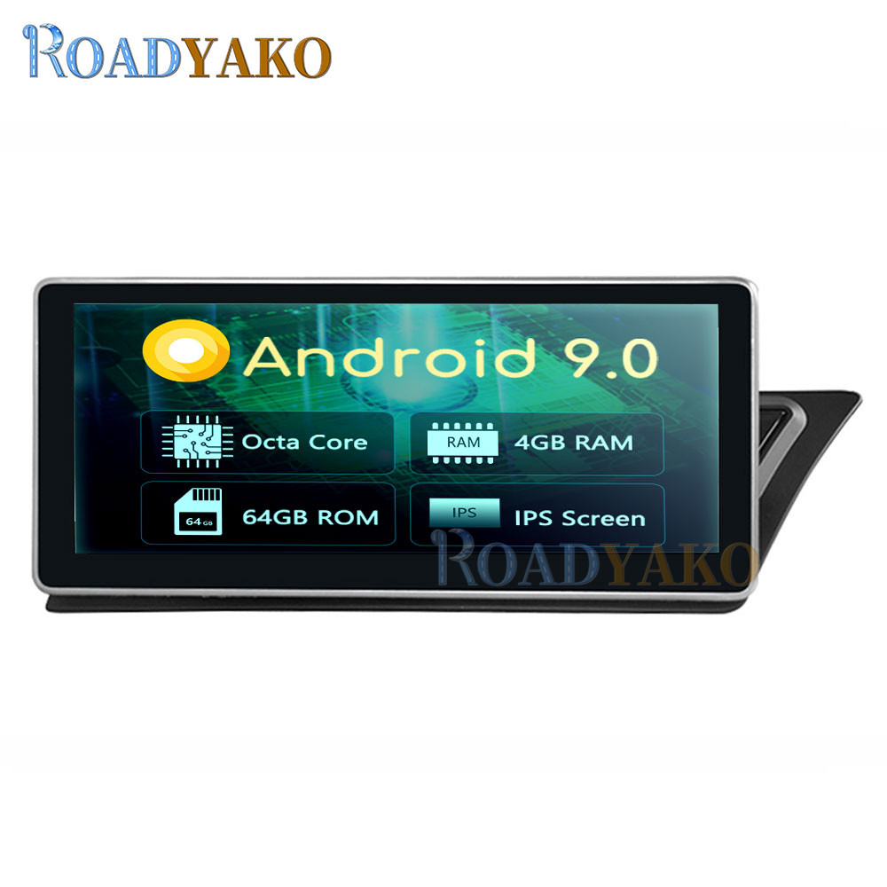<font><b>10.25</b></font>''Android 9.0 Autoradio Car Radio For <font><b>AUDI</b></font> <font><b>A4</b></font> A5 2009-2017 Stereo Car Multimedia Video player Navigation GPS магнитола 2Din image