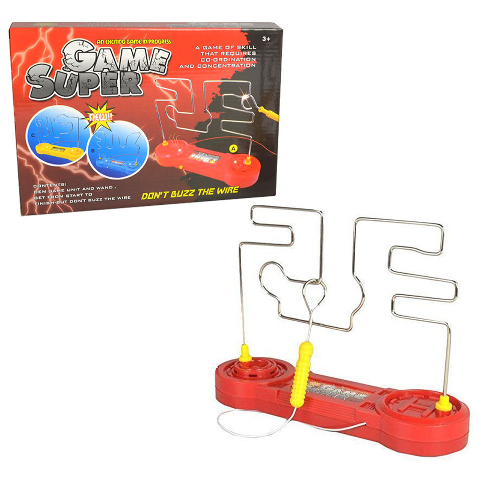 Leikance Kids Electric Shock Toy,Develop childrens focus Electric Touch Maze Game Party Funny Game Toy