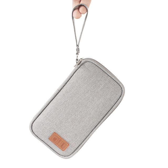Portable Power Bank Storage Bag USB Cables Charger Holder Cable Organizer Pouch Case Travel Electronic Bag Accessories 2