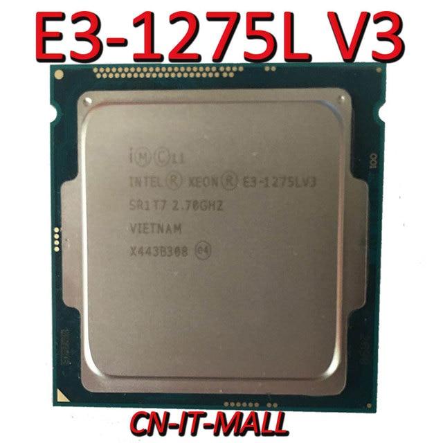 Процессор Intel Xeon E3 1275L V3 cpu 2,7 ГГц 8 м 4 ядра 8 потоков LGA1150