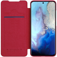 NILLKIN for Samsung Galaxy S20 Flip Case Qin Series Luxury PU Leather Plastic Back Cover for Samsung S20 Plus Ultra S20+ Case|Flip Cases| |  -