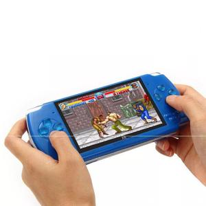 X6 hd multi-function 4.3-inch big screen handheld game console supports MP4 camera TV multimedia game console 10,000 games