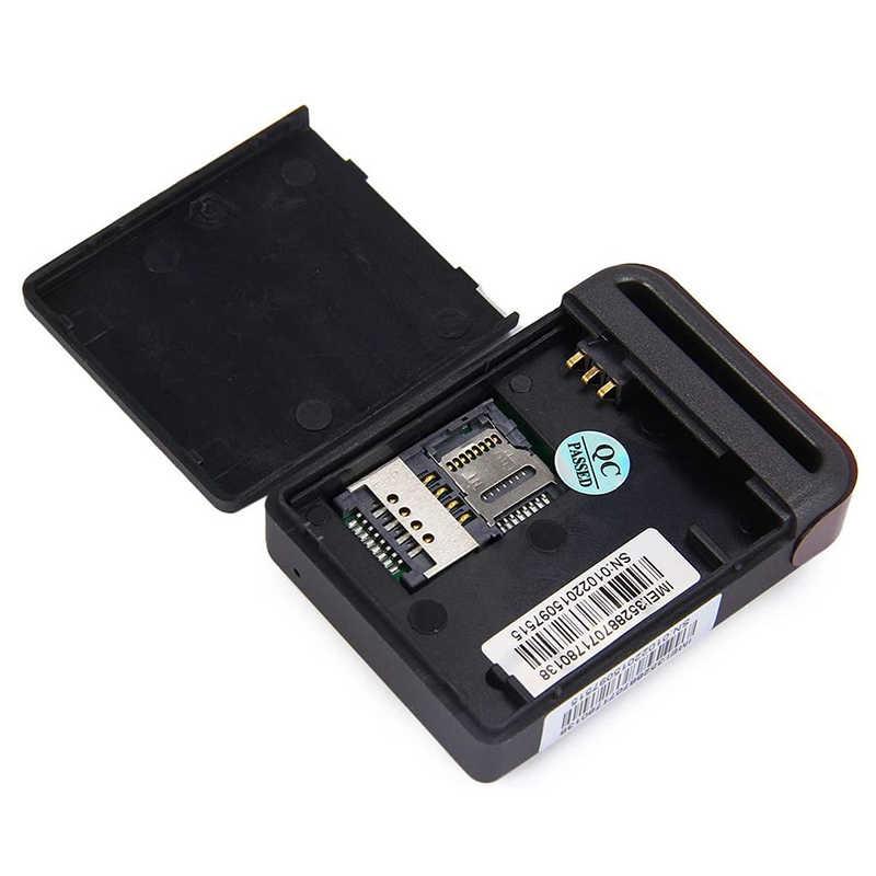 GPS TK102B Мини Автомобильный GPS GSM GPRS записывающий трекер устройство TK-102 для автомобиля мотоцикла локатор трекер