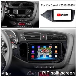Image 4 - CAIXI 2din Android Car Radio Multimedia Video Player autoradio rds audio GPS Navigation dvd  For KIA Ceed CEED JD 2012 2018