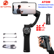 Snoppa Atom 3 Axis Foldable Pocket Sized Handheld Gimbal Stabilizer for iPhone Smartphone GoPro & Wireless Charging PK Smooth Q2