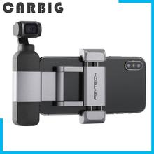PGYTECH dla DJI Osmo kieszeń kieszeń 2 uchwyt na telefon + Plus zestaw składany dla DJI OSMO kieszeń kieszeń 2 kardana ręczna akcesoria tanie tanio CARBIG CN (pochodzenie) Osmo pocket and pocket 2