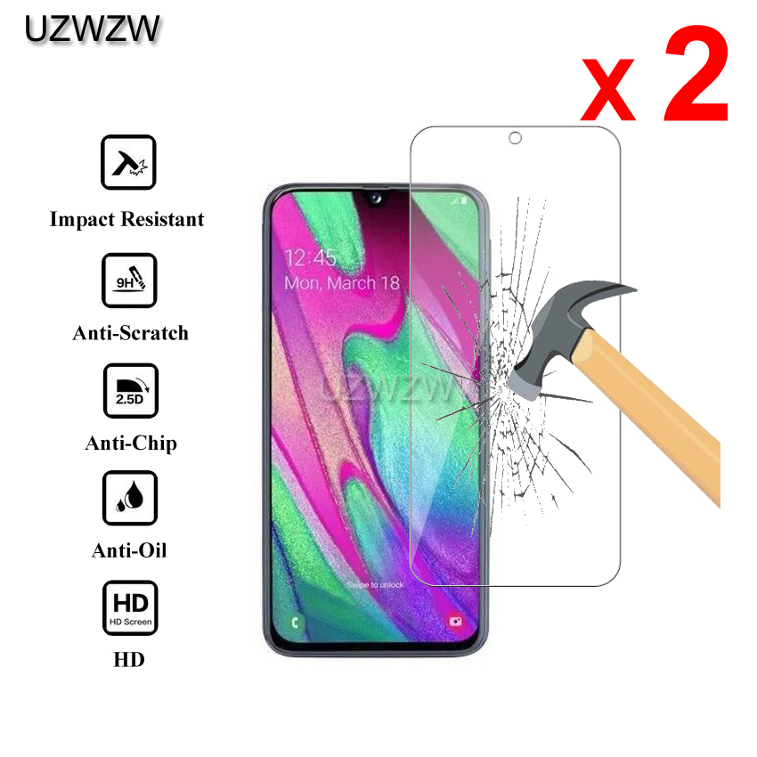 2pcs Glass For Samsung Galaxy A30 A30s 2.5D 0.26mm Premium Protective Tempered Glass Screen Protector For Samsung A30 Glass