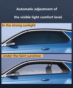 Image 4 - Sunice 2 шт. комбинации фотохромные пленки, нано керамическая тонировка на солнечной батарее 75 45% VLT Солнечная Защитная пленка на окна самоклеящаяся