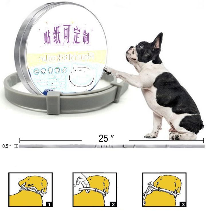 Flea And Tick Collar Pet Insecticide Neck Ring Dogs And Cats Natural Essential Oil Flea Repellent Neck Ring
