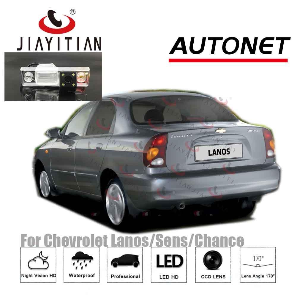 JIAYITIAN-caméra de Vision arrière | Pour Chevrolet Lanos/Sens/Chance CCD Vision nocturne, caméra de sauvegarde/Parking, plaque d'immatriculation, caméra inversée