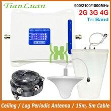 2G 3G 4G Tri Band Cellular Signal Booster
