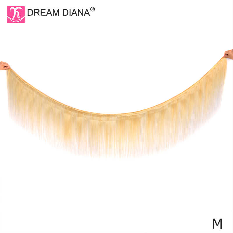 """DreamDiana 613 Lace Front Pruik Remy Haar Bob Pruik 8 """"150 Density13x4 Lace Front Pruik Braziliaanse Haar Blonde Straight lace Front Pruik M"""