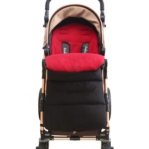 Image 5 - Colchón impermeable para bebé en cochecito, reposapiés, sacos para dormir de invierno, cubierta para pies de bebé