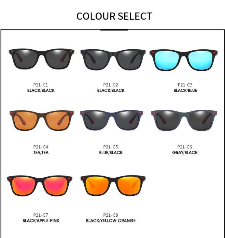 Brand Designer Vintage Men Women Polarized Sunglasses Driving Goggles Square Eyewear UV400 Gafas De Sol Outdoor Fishing Travel in Men 39 s Sunglasses from Apparel Accessories
