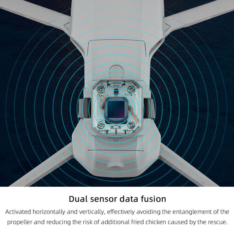 com duplo-sensor de fusão de dados para