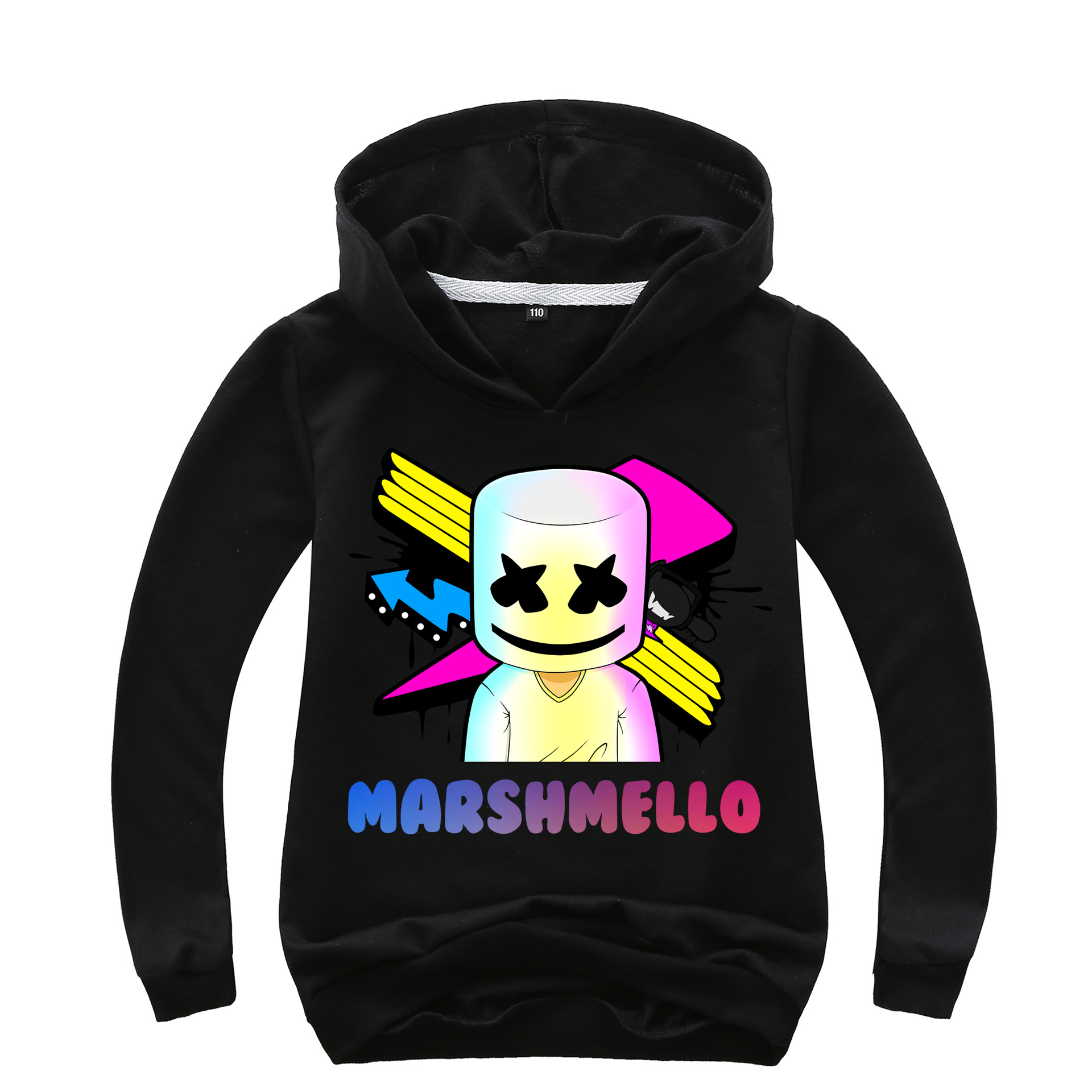 2019 New Style Childrenswear Marshmello Cotton Candy DJ Fashion Coat Hoodie 0232