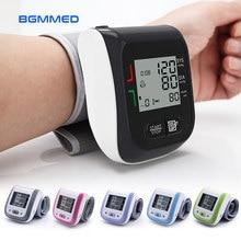 Tıbbi dijital kan basıncı monitörü bilek kan tonometre otomatik tansiyon aleti kan basıncı ölçer tensiometro