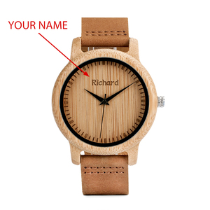 Image 2 - BOBO BIRD Couple Watch Men Women Wood Quarzt Wristwatches for Male Personalized Engraved Anniversary groomsman Gift