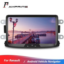 AMPrime 2 Din Car Radio Android Autoradio 8 inch GPS MP5 Multimedia Player For Renault Sandero/Duster/Logan/Dokker Mirror Link(China)