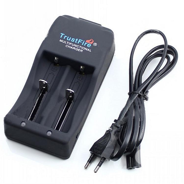 TrustFire быстрое зарядное устройство для литий-ионных аккумуляторов 26650 25500 26700 18650 16340 V-4,2 V Автоматическая остановка зарядки 2 слота зарядное ус...
