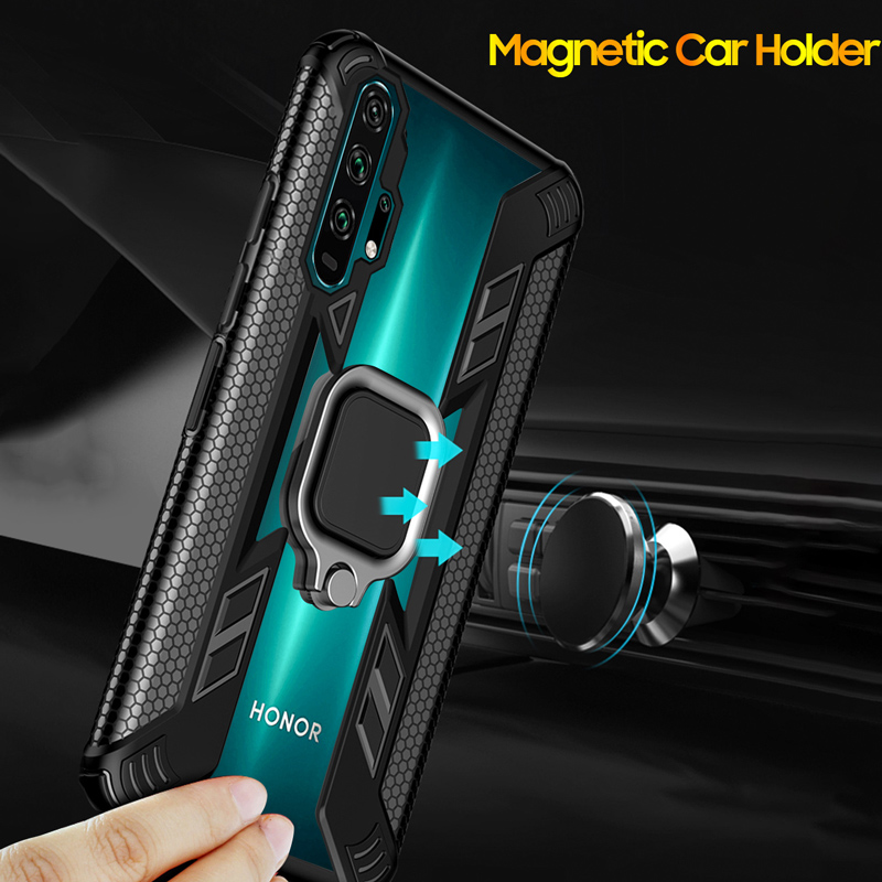 KEYSION Shockproof Case For Honor 20 Pro 10i 10 Lite 8X 8A 5T Phone Cover for Huawei Mate 30 Pro P40 P30 Lite Y6 Y7 Y9 2019 Y9S 4