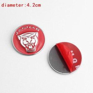 Image 5 - 1pc botão de mudança de engrenagem do carro decoração interior emblema decalque para jaguar F PACE xe xf xj xel xfl estilo do carro modificaiton adesivo