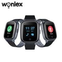 Wonlex Smart Uhren Im Alter Von GPS Locate Tracker Sitzende Herbst Alarm Ältere Herz Rate Blut Messen 4G KT17S Stimme Gegensprechanlage uhr