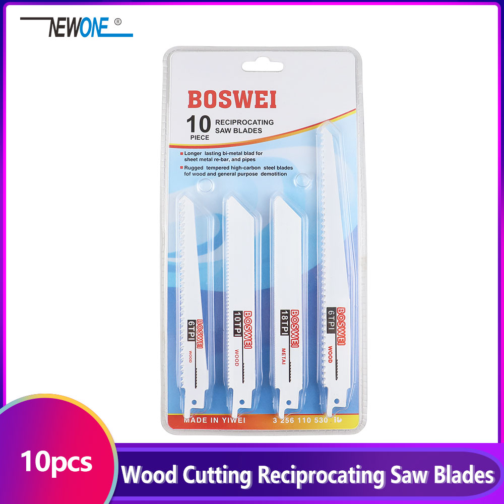 10 pcs/set Jig Saw Blades Reciprocating Saw Multi Cutting For Wood Reciprocating Saw Power Tools Accessories