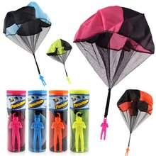 Creative Casual Soldier Hand Throwing Parachute ChildrenS Educational Toys Outdoor High Altitude Parachut Sports Game