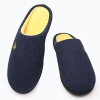 Men Winter Home Slippers Soft Warm With Fur Comfortable Men Sneakers Indoor Bedroom Lovers Couples Cotton Non Slip Floor Shoes 5