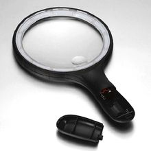 Handheld Magnifier Illuminated 10 LED Lights High Magnification Glass Upgraded for Seniors Reading Stamp Map Jewelry macs for seniors for dummies®