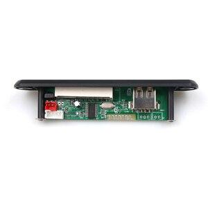 Image 2 - Bluetooth MP3 WMA декодер KEBIDU с цветным экраном, плата 5 в 12 В USB аудио TF FM радио модуль с пультом дистанционного управления для автомобиля