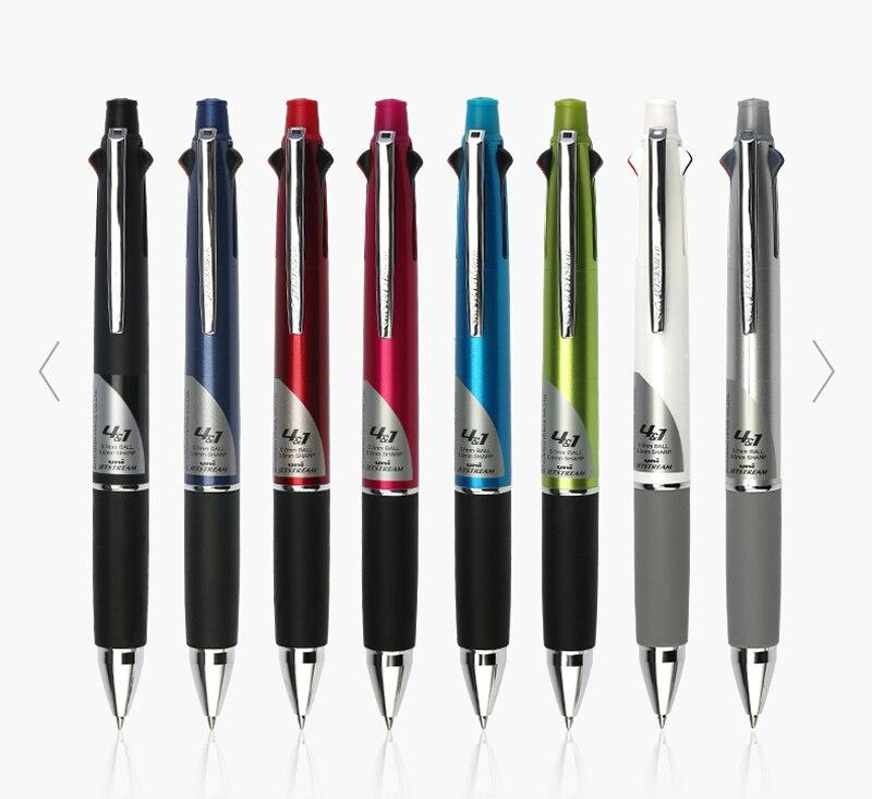 Japan Black UNI-BALL Multi-Function 4+1 0.7mm ball point pen /& 0.5mm pencil