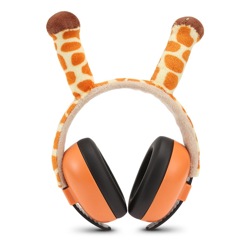 Baby Noise Earmuffs For Children Baby Soundproof Ears Baby Kids Anti Noise Earmuffs Headset Hearing Protection Ear Defenders-Gir
