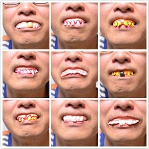 9 Style Jokes Funny Prank Horror Shocker Novelty Gadgets Fun Denture Gags & Practical Jokes Halloween Decoration Props Toy