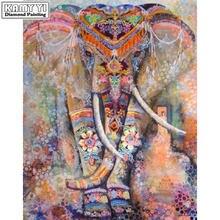 Полностью квадратная/круглая дрель 5d сделай сам цветной слон