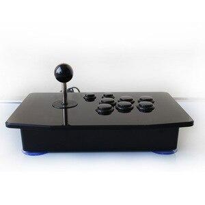 Акриловый джойстик с нулевой задержкой для аркадных боев USB проводной компьютерный игровой джойстик с 8 кнопками для настольного ПК