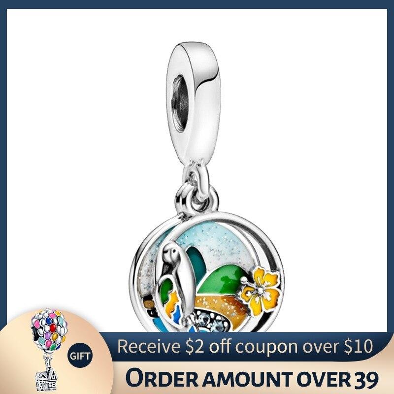 CODEDOG 2020 New s925 Sterling Silver Balloon, Carousel Series Charm Beaded fit Original 3mm Bracelet Ladies DIY Jewelry