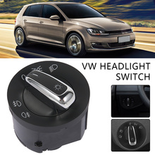 Car Headlight Switch for VW GOLF Passat CC Touran POLO BORA Jetta Caddy 5ND941431A Auto Interior Accessories for vw golf caddy bora polo 1 4 1 6 16v egr valve 036131503r with gaskets