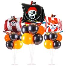 Halloween Bar Festival Decoration Caribbean Pirate Skull Lat